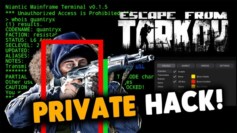ESCAPE FROM TARKOV NEW HACK EFT HACK ESCAPE FROM TARKOV AIMBOT ESP WALLHACK UNDETECTED