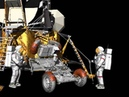 Lunar Rover Vehicle Deployment Animation