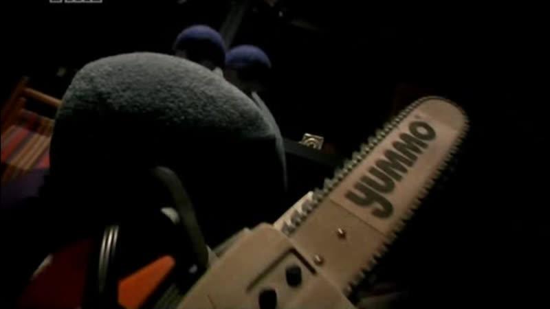 Мохнатики - Резня бензопилой|В ролике есть сцены кукл Ананистов|18|