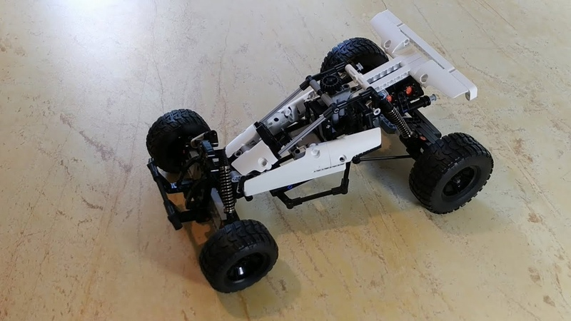 Xiaomi Building Blocks Cars Desert Racing