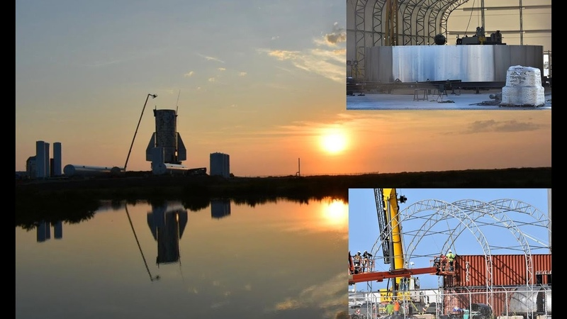 SpaceX Boca Chica - Preparing for Starship Mk3 - November 25, 2019