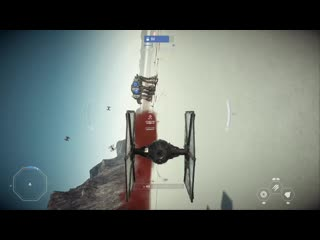 Забавный момент из игры Star Wars Battlefront II.