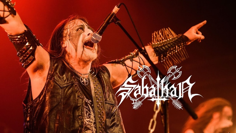Sabathan At The Sound Of The Millenium Black Bells live in Brussels 6 03 2019 Black Metal Norway Italy