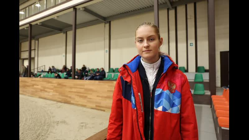 Ксения Хайрулина - бронзовый призёр Гран При CSI3* (155см)