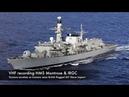 Переговоры иранских ибританских военных вОрмузском проливе