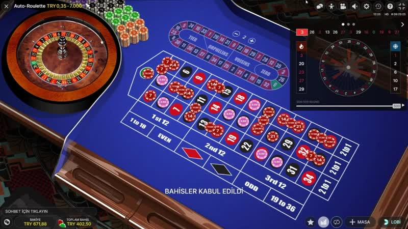 Casino Sarayi AUTORULET SİSTEM BASİT SLOT CASİNO ROULETTE RULET BLACKJACK AUTORULET