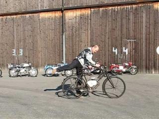 1. Bike from Suzuki the Diamond Free from 1953 ride in Reiden CH by rebikeling