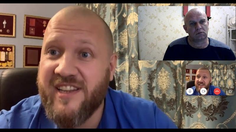 Андрей Брезгин vs Дмитрий Таран Есть не нормативная лексика