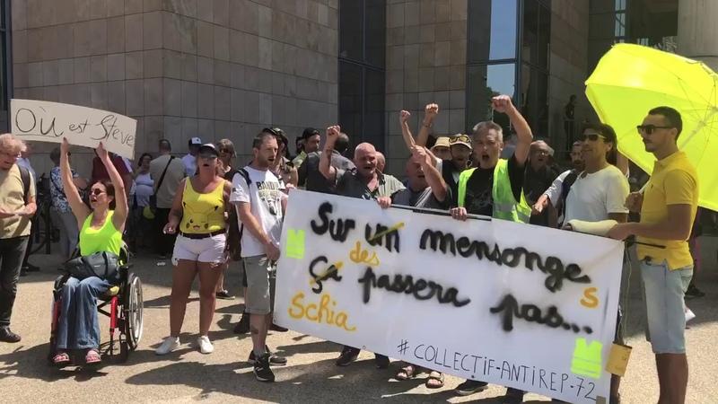 Le Maine Libre - Procès Gilets jaunes Marlène Schiappa