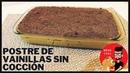 Postre SIN HORNO de Galletas Vainillas y Dulce de Leche. ¡Fácil, Rápido y Riquísimo!