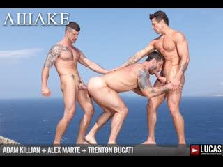 Alex marte with adam killian and trenton ducati