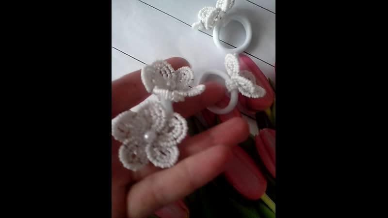 резиночки цветочки