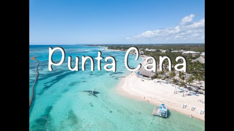 Dominican Republic - Punta Cana, playa blanca, Club Med (Доминикана - Пунта Кана) 4K