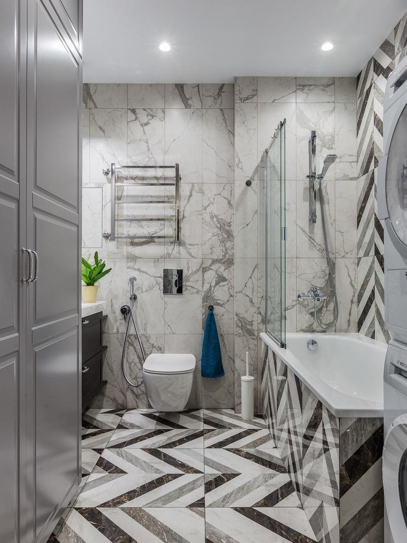 Современная квартира 120 м² с яркими акцентами от Айгуль Султановой
