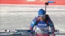 Вести в 20 00 Сумасшедший успех Подчуфаровой биатлонистка стала золотой девушкой в спринте