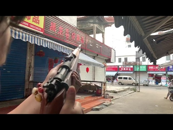 乖巧虎拋殼毛瑟98K水彈槍測試視頻 hanke Mauser Kar98k shell ejecting gel blaster,