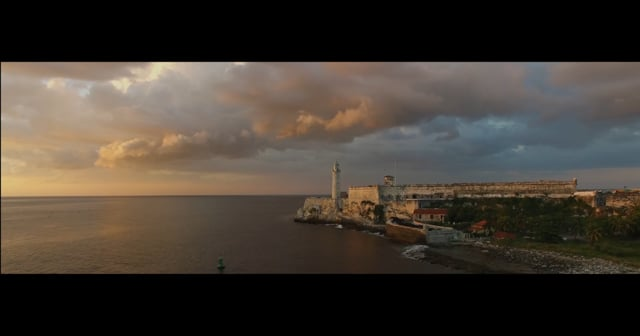 DJI UAV Drone Over Cuba UHD 4K Video