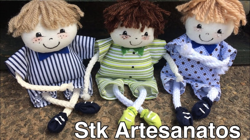 LEMBRANCINHA chaveiro boneco de cordão