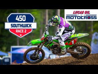 6 этап. southwick 450mx moto 2 lucas oil motocross 2019