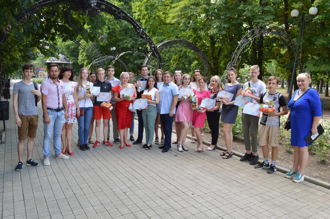 В Донецке наградили участников интеллектуального конкурса «#DonBrain»