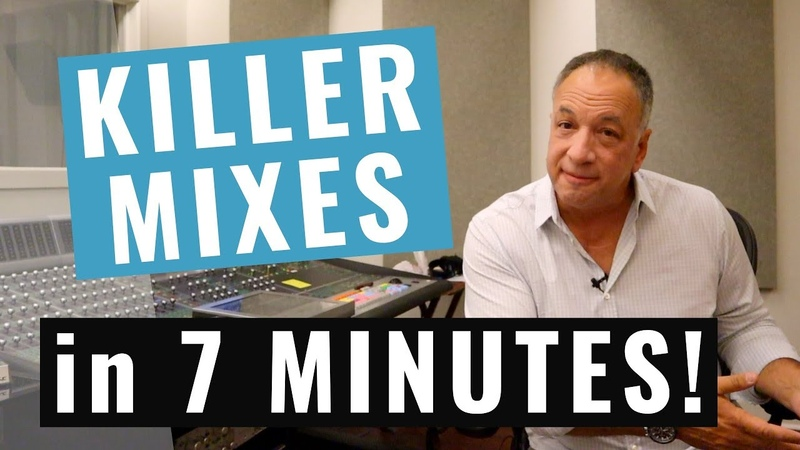 Get Better Mixes in 7 Minutes PRO SECRETS REVEALED