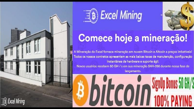 Excel Mining Ganhe 50 gh s free no cadastro Plano a partir de 100 gh s por $1 99 Renda Extra