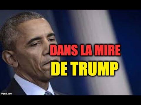 Obama ciblé par Trump