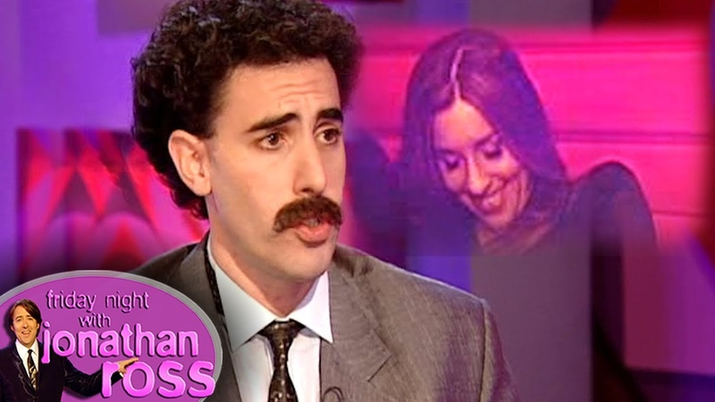 Sacha 'Borat' Baron Cohen Asks Melanie What Her Price Is   Friday Night With Jonathan Ross