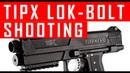 Tippmann Tipx Lok Bolt Installation and shooting Demo MCS