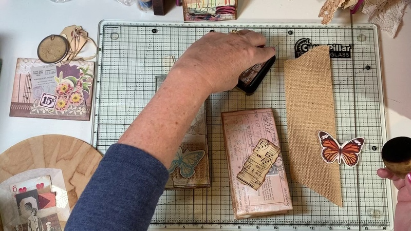 Making Ephemera - Bag, Tablet, Coffee Filter Pocket