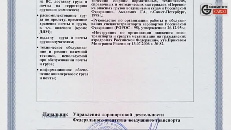 Шереметьево Карго
