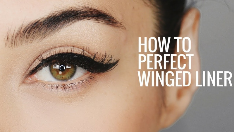 HOW TO: Apply Perfect Winged Eyeliner