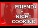Friends Visit Night Cooking Part 1 Vlog 31 - Wesss TV