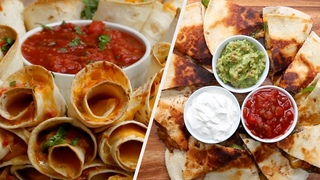 Mouthwatering Quesadillas Five Ways • Tasty Recipes