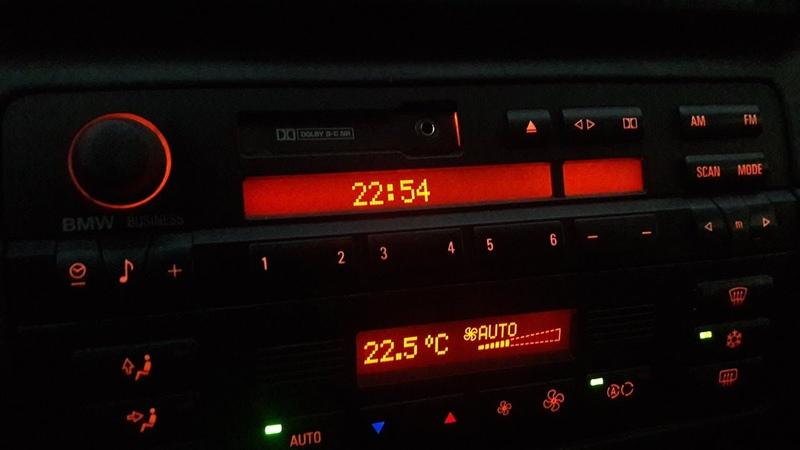 Установка времени и сброс бортового компьютера BMW E46 !
