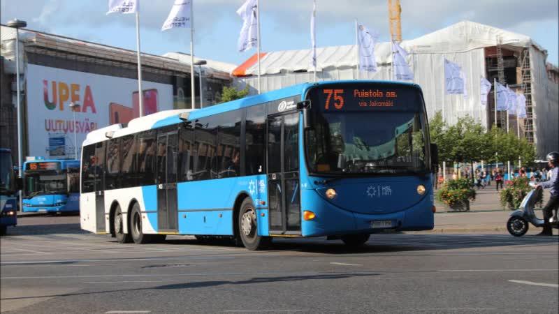 Автобусы Хельсинки