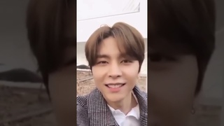 NCT Johnny hey what are you doing