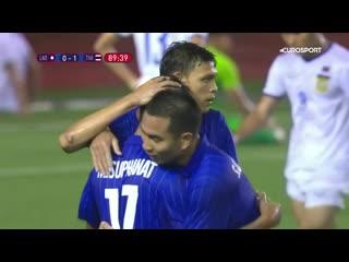 Отличный мяч из матча молодежек Таиланда и Лаоса