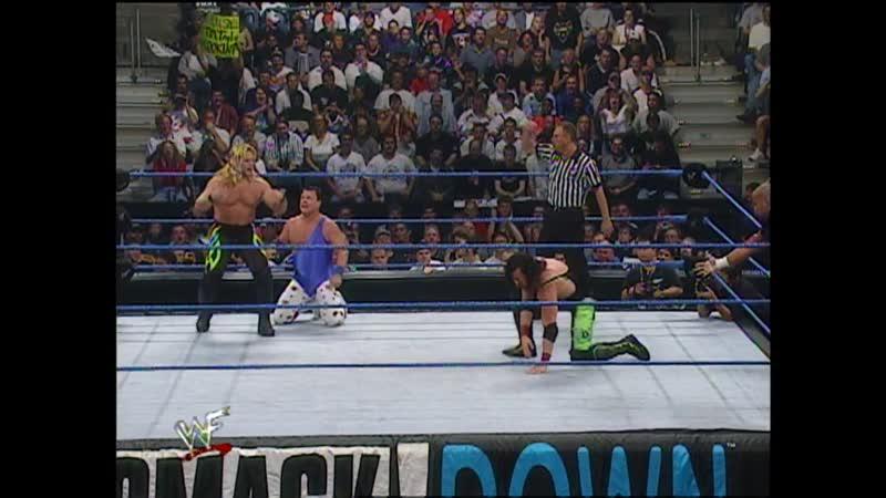 WWF SmackDown 21 09 2000 Tazz X Pac vs Chris Jericho Jerry Lawler