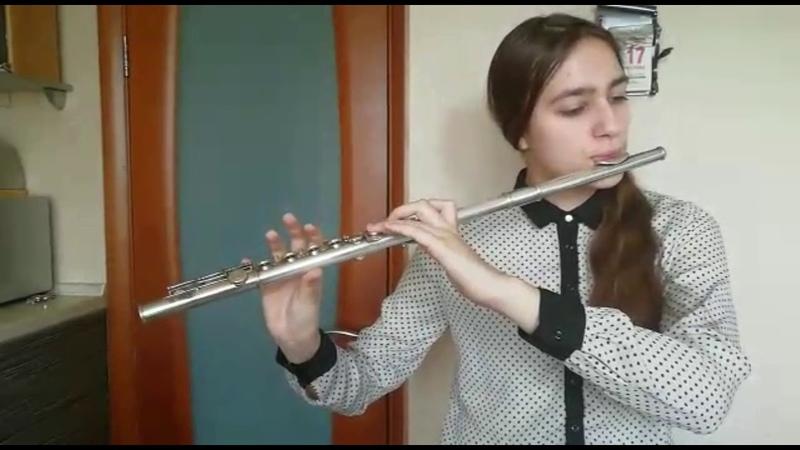 Г Фингер Соната для флейты Фа мажор 1 и 2 части В Андреев Вальс Грёзы