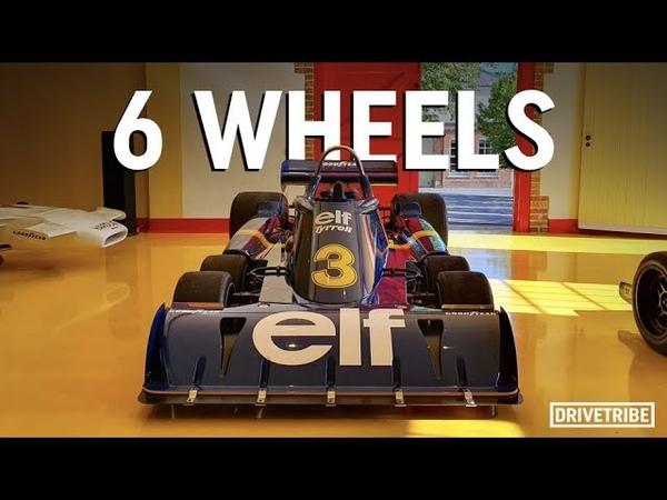 How does a six-wheeled F1 car work? – The Tyrrell P34