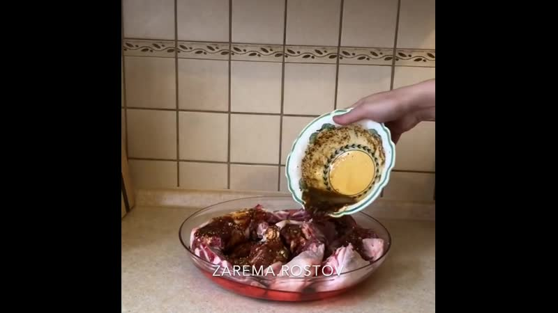 Баранина в самом вкусном маринаде ингредиенты указаны в описании видео