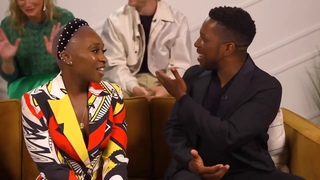 The cast of Harriet discuss Cynthia Erivo's rendition of 'I Did Something Bad' at TIFF 2019