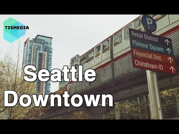Walking around Battery St and 5th Ave to Stewart St and 5th Ave【4K】, Seattle Downtown, Washington