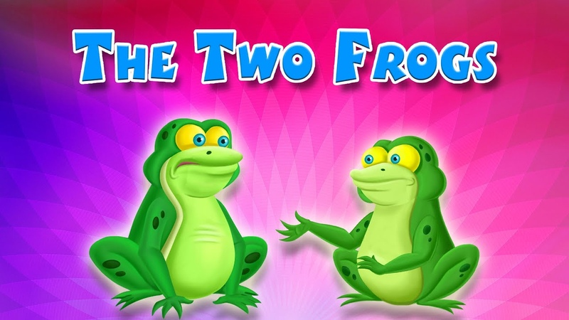 The Two Frogs English Short Stories For Children ShortStories KidsOne