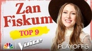 Zan Fiskum Sings Camila Cabello's Never Be the Same - The Voice Top 9 Performances 2020