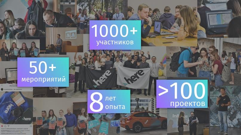 Проекты HERE Community в цифрах