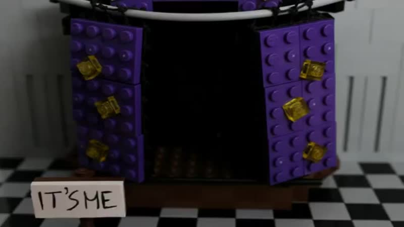 LEGO Five Nights At Freddy`s 2 'TOY FOXY' Fanmade by