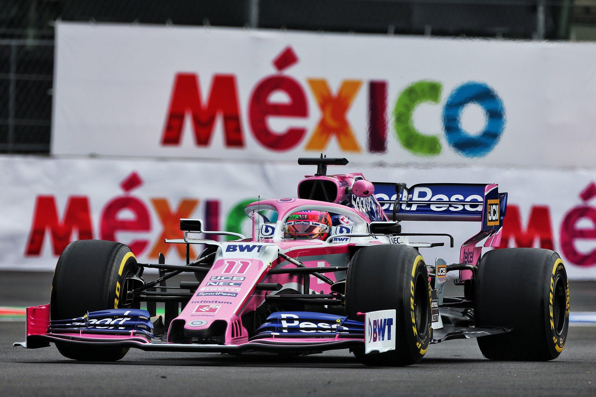 Racing Point догнала Toro Rosso в борьбе за шестое место в кубке конструкторов