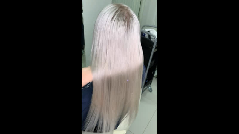 Идеальный блонд на светло русых волосах